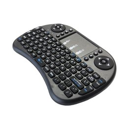 Wholesale Mouse Keyboard Windows - New 2.4G Mini USB Wireless Keyboard Touchpad & Air Fly Mouse Remote Control for Android Windows TV Box Smart Phone