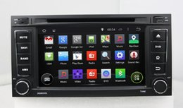 "Wholesale Dvd Player 3g Touareg - 4-core HD 2 din 7"" Android 4.4 Car Radio Car DVD for VW Volkswagen Touareg Multivan With GPS 3G WIFI Bluetooth IPOD TV USB AUX IN"