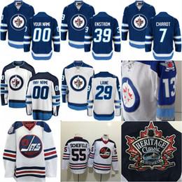 47f972506 Mens 2016 HERITAGE CLASSIC Winnipeg Jets 7 Ben Chiarot 39 Toby Enstrom 5  Dmitry Kulikov 44 Josh Morrissey Stiched Hockey Jerseys