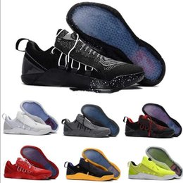 Wholesale Ad Discount - [WIth Box] New Mens KOBE A.D. NXT 12 men KB Volt White Black AD WOLF GREY Zoom Sport Shoes,discount Cheap Basketball Shoes