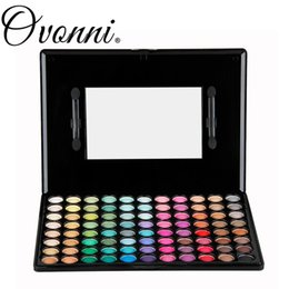 Wholesale Pigment 88 - Wholesale-New Professional 88 Full Color Pigment Eye Shadow Fashion Makeup Shimmer Matte Eyeshadow Palette Set With Mirror Blush