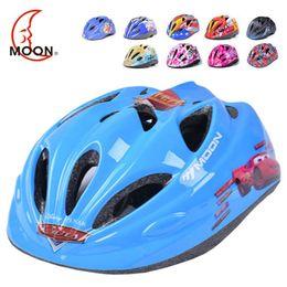 Wholesale Bicycle Helmets Moon - MOON Top Quality Children Cycling Helmet Integrally-molded Kids Bicycle Helmet for Road Mountain170g Kids Bike Helmet