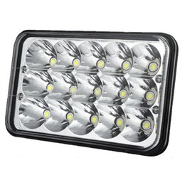UK uk-uk - work led light bar 6INCH 45W LED WORK LIGHT BAR SPOT REPLACE HID DRIVING HEADLAMP OFFROAD 12V 24V