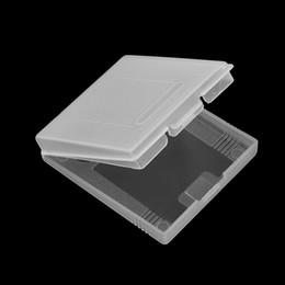 2019 пластиковые картриджи Оптово-жесткие прозрачные пластиковые чехлы Game Cartridge Case для gbp gb gbc Games Card Cartridge скидка пластиковые картриджи