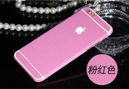"""Wholesale Sparkling Screen Protector - Fashional Candy Colors Glitter Full Body Stickers for iPhone 6 6s 4.7"""" 6 plus 5.5"""" Sparkling Film Decal Screen Protector"""