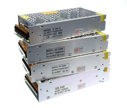 Wholesale Power Supply Module Ac Dc - Led Transformer 5A 60W 10A 120W 15A 180W 20A 240W 25A 300W 30A 360W Power Supply For Led Strips Led Modules AC 100-240V Output DC 12V