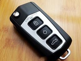 De calidad superior para Toyota 08 Camry 3 botones Modificado Flip Plegable Clave remota Cubierta en blanco Clave Funda de carcasa desde fabricantes
