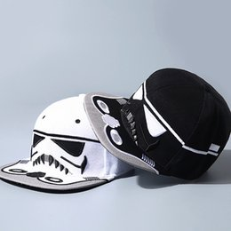 Wholesale Hat War - Star Wars Baseball Cap New Embroidery Men Women Fashion Sun Hats Adjustable Snapback Hip Hop Dance Hat Cap