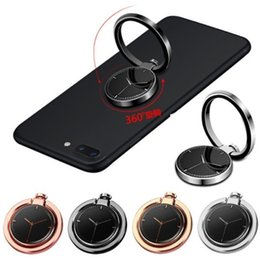 Wholesale Smartphone Grip - Universal Pocket Watch Stylish Cell Phone Ring Holder 360 Degree Rotation Finger Ring Stand Grip For iPhone Smartphone and Tablet