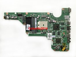 Wholesale Motherboard For Hp G6 - For HP Pavilion G4 G6 G7-2000 683030-501 DA0R53MB6E0 R53 Socket FS1 DDR3 HD7670M 1GB Laptop Motherboard Mainboard Working perfect