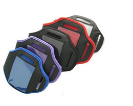 Wholesale S4 Free Case - Fedex DHL Free Shipping Sport Armband Case Cover Pouch For Samsung Galaxy S5 S4 S3 Arm band bag,500pcs lot
