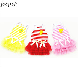 Wholesale Dress For Dogs Red - Puppy dog dress cheap summer clothes for dogs pet clothing for chihuahua pet products free shipping