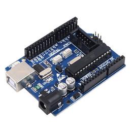 Canada 1 Pc Mise À Niveau Version UNO R3 Conseil ATmega328P ATmega16U2 + USB Câble kit Pour Compatible Neuf Offre