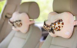 Wholesale Leopard Car Pillow - 1103024 Top grade Plush toys odd Creative simulation Big Mimi funny car pillow Sexy Leopard bra Cushion Graduation Birthday gift