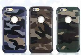Cool iphone 5s telefon fall online-Handy-Fall für neuen Entwurf kühlen Tarnungsfall iPhone 6S 6SPlus 5S für Verschiffen der Galaxie Note5 S6 S6Edge DHL ab