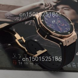 Wholesale Hot Details about F1 KING POWER ROSE GOLD Machinery Shipment style luxury brand watches