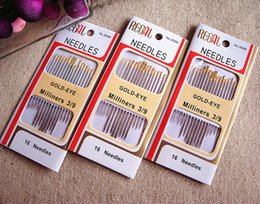 Wholesale Sewing Notions Free Shipping - hot sale new 2016 Free shipping sewing needles Self threading needle assorted Multifunction Sewing Notions & Tools