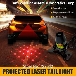 Wholesale Car License Plate Anti - Hot selling Anti-Collision car laser fog lamp,10 different laser pattern,rear tail light license plate lamp for all car model