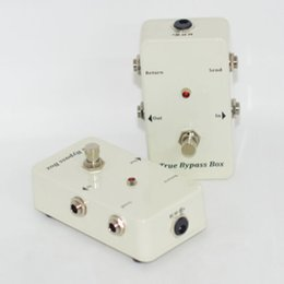 Wholesale White Pedals - True-Bypass Looper Effect Pedal Guitar Effect Pedal Looper Switcher true bypass White!BRAND NEW CONDITION