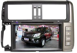 Wholesale Free Link Building - 8 inchFactory car dvd gps for TOYOTA PRADO 2010 2011 2012 2013 +free CCd camera+bluetooth+radio+slip menu+ free map+PHONE LINK