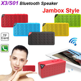 Wholesale Mp3 Mp4 Card Reader - Classic OY X3 Mini Bluetooth Speaker Wireless Rechargeable Battery Portable Loud Subwoofer Hands-free Music MP3 MP4 Player with MIC TF Card