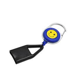 Wholesale Eco Premium - Wholesale Premium Lighter Leash Clips Retractable Keychain Lighter Holder