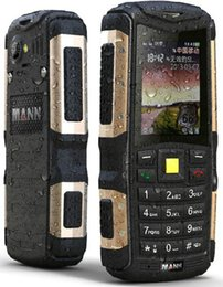 Wholesale Old Cell Phone Screen - Original MANN ZUG S IP67 Waterproof Mobile Phone Rugged Outdoor Cell Phones old people phone Dual SIM card Bluetooth Russian