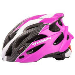 Wholesale Moon Mountains - MOON Child Cycling Helmet Ultralight PC+EPS Bicycle Helmet Integrally-molded Road Mountain Bike Helmet 3 Color CE Certification