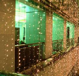 Canada 8M * 3M chutes d'eau lampe étanche 800 leds vacances lumières série de mariage mariage lumière décorer décoration de la fenêtre cheap led light series decoration Offre