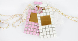 Wholesale Cellphone Covers Free Shipping - Rhinestones Diamond Cellphone Cover Soft TPU for iPhone 6 4.7 6 Plus 5.5 5 5S Luxury Perfume Bottle Case With Packag Wholesale Free Shipping