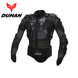 Wholesale Brand Motorcycle Gear - Authentic DUHAN DH-04 motorcycle ARMOR Off-road racing popular brands armors protective Knight Racing Protective Gear size M L XL XXL