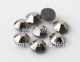 Wholesale Used Shoes For Sale - Hot sale Rhinestone DMC SS6 Hematite 7200pcs lot Hotfix rhinestones use for garments shoes bags Free shipping M64920