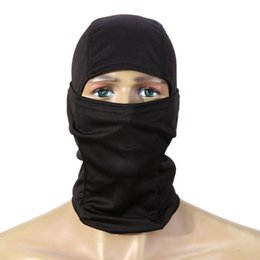 Wholesale Hunting Balaclava - Wholesale- Outdoor Sports 3D Camouflage Camo Headgear Balaclava Face Mask for Hunting Fishing Adjust Cycling Face Mask