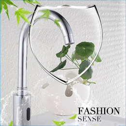 Wholesale Automatic Mixer Faucet - Automatic sensor faucet mixer,Intelligent sensor mixer tap,AC and DC control box,tap smart regulation,J14343