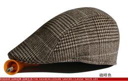 Wholesale Black Ivy Cap - Men Women Peaked Cap Cabbie Newsboy Gatsby Flat Ivy Golf Baker Beret Flat Hat