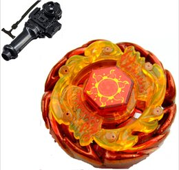 Wholesale Mini Solar Toys - Sale Sol Blaze Beyblade spare parts (AKA Solar Sun God) BB89 Toys For Launcher metal jouets gyroscope top fury
