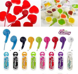 Wholesale Ha Ipad - Gumy Gummy Earphones OEM Earbuds Headphones HA-F150 NEW ALL COLORS IPHONE MP3 Lowest Factory Price For Iphone 5 5s 5c Ipad Ipod 100PCS