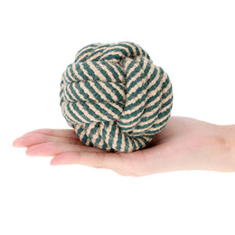 Wholesale Toy Ball For Dogs Cotton - Perfect Dog Entertained Rope Toy Multicolor Multi Knot Rope Ball for Pet Big Cotton Dog Chew Toy Toxic Free Dog Supplies