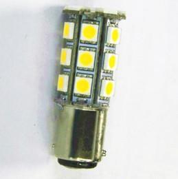 Wholesale 12v 1142 - Wholesale-2 X BA15D 1142 1076 1178 1130 RV Boat LED Light Bulb 280 LM Warm White 12V