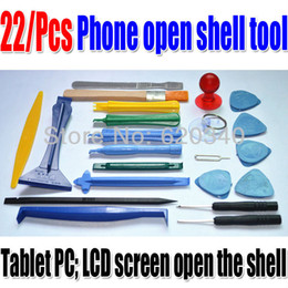Wholesale Disassemble Tools - new 22 in 1 Opening Tools Repair Tools Phone Disassemble Tools set Kit For iPhone iPad HTC Cell Phone Tablet PC order<$18no track