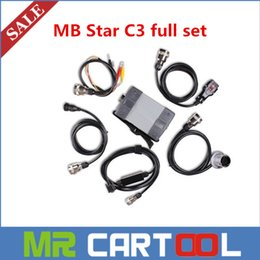 Wholesale Star C3 Best - DHL free shipping 2015 Best Quality MB Star C3 five cables Full Set multiplexer without software