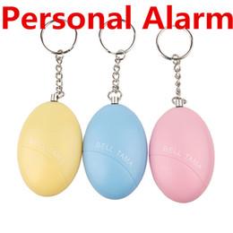 Alarmas personales Bell Tama Loud Safe Stable 120 Decibelios Mini llavero portátil de alarma Safe Football Panic Anti Rape Attack Safety Security desde fabricantes