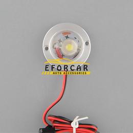 Controlador de luz de emergência led on-line-Alta Potência 2 LED Car Truck Strobe Luzes de advertência de Emergência Flash Light Bulb Lamp Com Controlador 12 V 5 W Branco 100 conjunto / lote