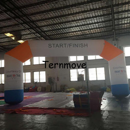 Wholesale Custom Tents - Wholesale- inflatable start arch inflatable finish line arch with custom logo inflatable racing arch,inflatable event archway finish line