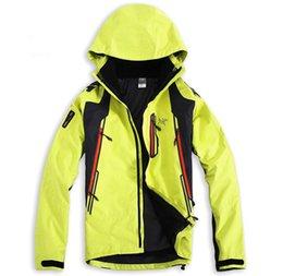 Wholesale Black Long Coat Men Styles - 2018 new style 2 in 1 Birdie brand The Triclimate Winter Hood men Outerwear Coats Faced Jacket mens Jackets