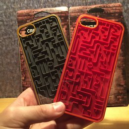 Wholesale Iphone Maze - Maze Case For iPhone 6 6S 7 7Plus Back Cover For iPhone 6s 6s + 8 8Plus + Labyrinth Protective Shell