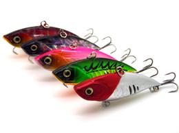 Señuelos de vibración online-Señuelo biónico de la pesca Hundimiento vibración cebos duros modelo de ruido Bassbaits realista manivela Aparejos de pesca 6.5cm 11.5g
