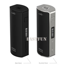 Wholesale Evic Best Mod - Authentic Eleaf iStick 60W TC Box Mod fit Battery 18650 Best Match Melo 2 VS iStick 40w TC Smok Xcube2 eVic Mini
