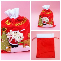 Wholesale Christmas Decorations Wholesale Online Sale - Cheap Sale Online Christmas Souvenir Bags Festival Party Supplies Xmas Eve Bags Santa Claus Bag Gift Candy Bags Gift Package