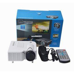 Wholesale Mhl Vga - DMY 1080PHD Multimedia UC28 Portable mini LED Projector projecteur Home Theater HDMI VGA AV USB SD lamp Remote Control proyector